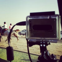 Photo taken at Equestrian Endurance Village by Hasan A. on 1/12/2013