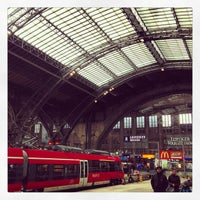 Photo taken at Leipzig Hauptbahnhof by Bjoern E. on 3/22/2013