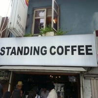 Photo taken at STANDING COFFEE by Young C. on 6/29/2014
