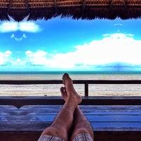 Photo taken at Praia Azul by Rodolfo C. on 10/14/2013