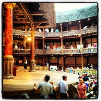 Photo taken at Shakespeare's Globe Theatre by Alejandro C. on 7/17/2013