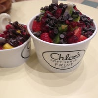 Photo taken at Chloe's Soft Serve Fruit Co. by Jeniver Z. on 3/21/2013