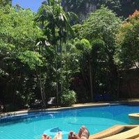 Photo taken at Phu Pha AoNang Resort & Spa by Lucas R. on 9/30/2015