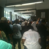 Photo taken at Oak Cliff Sub-Courthouse by Benjamin Michael B. on 10/22/2012