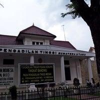 Photo taken at Pengadilan Negeri Medan by ardian h. on 1/14/2015