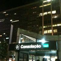 Photo taken at Estação Consolação (Metrô) by Sah F. on 1/18/2013