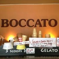 Photo taken at Boccato Gelato & Espresso by Gregory J Amani S. on 6/4/2013
