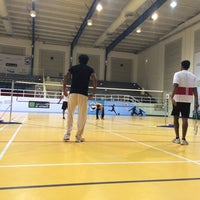 Photo taken at Salah AlDin Sports Hall صالة صلاح الدين الرياضية by Sandeep B. on 7/12/2014