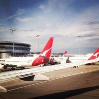 Photo taken at T3 Qantas Domestic Terminal by Lachlan C. on 10/31/2012