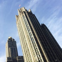 Photo taken at Tribune Tower by amy f. on 6/12/2016