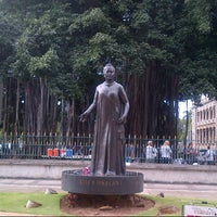 Photo taken at Queen Liliʻuokalani Statue by Linda L. on 3/14/2013