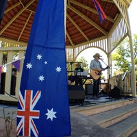 Photo taken at Unley Soldier's Memorial Gardens by Road Movie M. on 1/25/2014