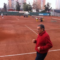 Photo taken at Federación de Tenis de Chile by Miguel A. on 6/14/2014