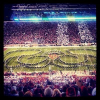 Photo taken at Gaylord Family Oklahoma Memorial Stadium by Drew D. on 10/28/2012