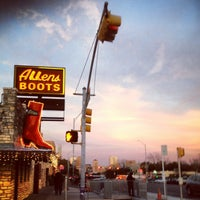 Photo taken at Allens Boots by Ying W. on 12/27/2012