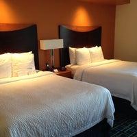 Photo taken at Fairfield Inn & Suites Santa Cruz - Capitola by Jen B. on 10/22/2013