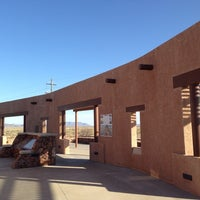 Photo taken at Marfa Mystery Lights Viewing Area by Steve J. on 3/27/2014