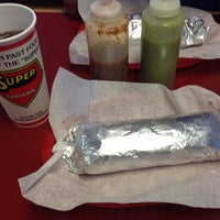 Photo taken at Super Taqueria by Juan D. on 7/4/2013