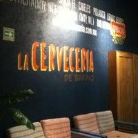 Photo taken at La Cervecería de Barrio by Venecia Q. on 10/20/2012