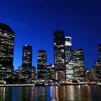 Photo taken at Eagle Street Pier Ferry Terminal by Chloe S. Y. on 2/12/2013