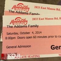 Photo taken at Manoa Valley Theatre by Koji on 10/5/2014