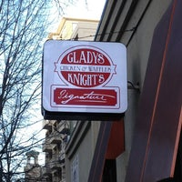 Photo taken at Gladys Knight's Signature Chicken & Waffles by Sarah D. on 1/26/2013