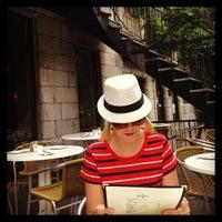 Photo taken at Café Cherrier by Dhanukshi on 6/23/2013