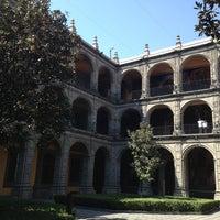 Photo taken at Antiguo Colegio de San Ildefonso by Cinthia M. on 3/5/2013