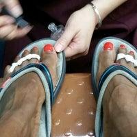 Photo taken at Pure Nail Salon by Nyree B. on 5/23/2014