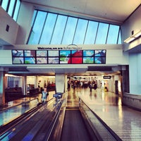 Photo taken at Buffalo Niagara International Airport (BUF) by Nick Z. on 9/14/2012