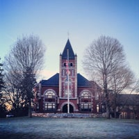 Photo taken at Thompson Hall by UNH Students on 12/14/2012