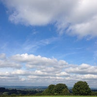 Photo taken at Fordcombe Village by Richard T. on 10/7/2013