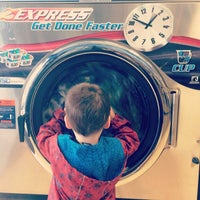 Photo taken at Big Wave Laundromat by Ed H. on 3/2/2014