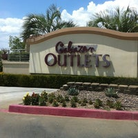 Photo taken at Cabazon Outlets by Adam S. on 7/22/2012