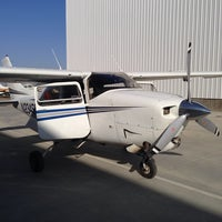 Photo taken at Bakersfield Meadows Field Airport (BFL) by Aaron H. on 10/17/2013