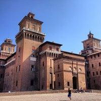 Photo taken at Castello Estense by Nikolay P. on 9/4/2013