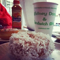 Photo taken at Whitney Donut Shop by Lisa C. on 1/12/2013