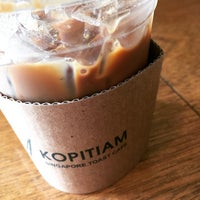 Photo taken at Kopitiam Singapore Toast Cafe by Seven S. on 1/15/2015