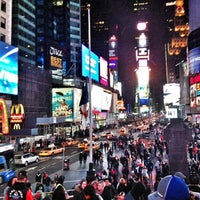 Photo taken at W New York - Times Square by Eldar K. on 3/3/2013