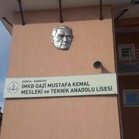 Photo taken at Konya İMKB G.M.K. Otelcilik Turizm Meslek Lisesi Uygulama Oteli by Neptün Hotels S. on 2/24/2016