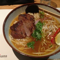 Photo taken at Wagamama by Leslie M. on 1/12/2013