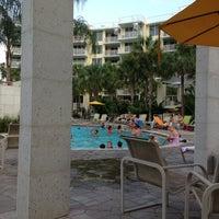 Photo taken at Lazy River @ Destin West Resort by Spencer C. on 8/4/2013
