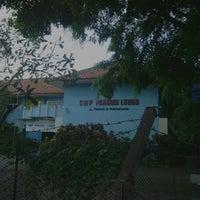 Photo taken at SMP Pangudi Luhur 1 Yogyakarta by Fuad G P. on 4/28/2013