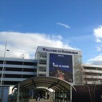 Photo taken at Edinburgh Airport (EDI) by Elena G. on 3/3/2013