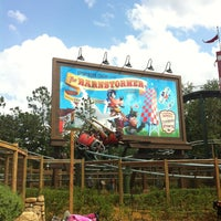 Photo taken at The Barnstormer by Zelma on 5/12/2013