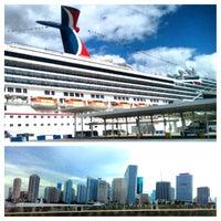 Photo taken at Port of Miami by Rodri on 9/7/2013