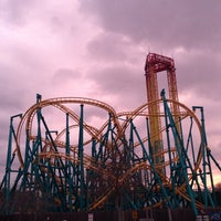 Photo taken at Six Flags Fiesta Texas by DLester S. on 1/16/2013
