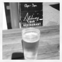 Photo taken at Alchemy Bar & Restaurant by Baalachi V. on 3/26/2013