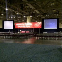 Photo taken at Metro Toronto Convention Centre - South Building by Daniel P. on 10/4/2012