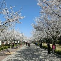 Photo taken at 경희대 국제캠퍼스 중앙도서관 by Yuuichi A. on 4/6/2014
